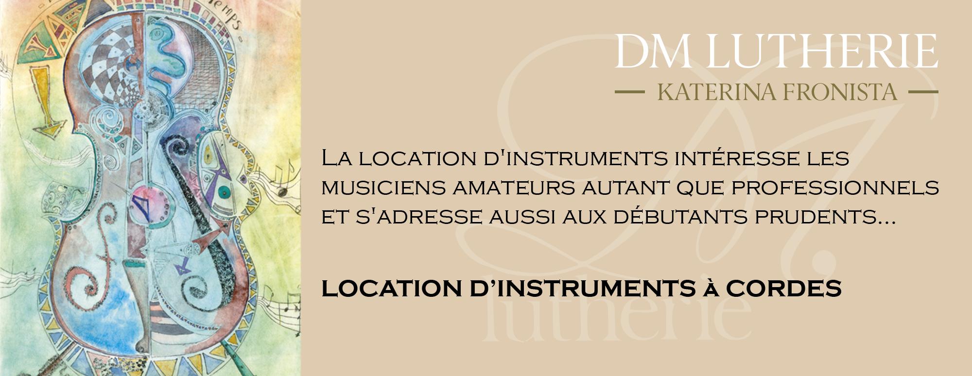 Location instruments de musique Avignon